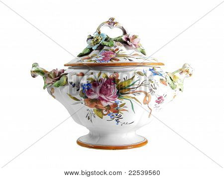Floral Tureen