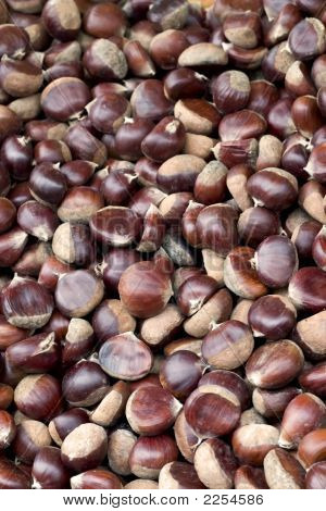 Chestnuts At Farmer'S Market