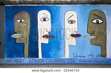 Tolerance On Berlin Wall