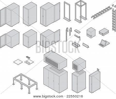 Datacenter-Ausrüstung