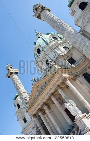 The Karlskirche (St. Charles's Church), Vienna