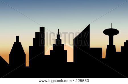 Cityscape Dawn