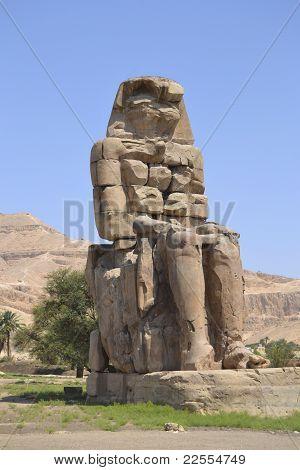 Statue Of The Colossus Of Memnon