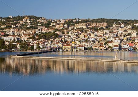 Traditional city of Argostoli at Kefalonia