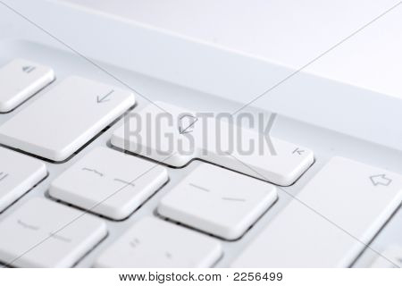 White Enter Key