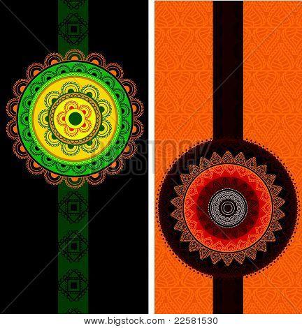Henna Mandala Design