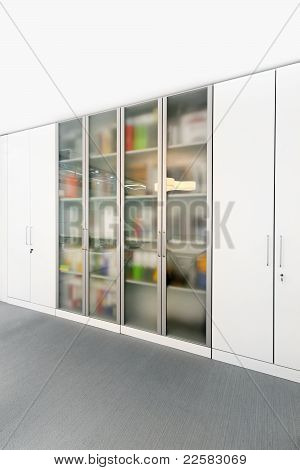 Office Glass Cabinet