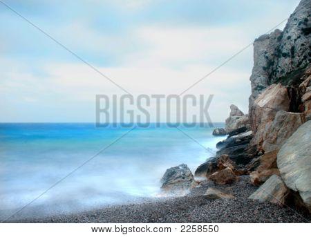 Dreamy Beach Near Athens Greece