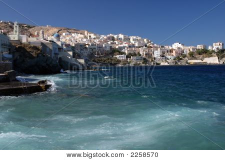 View Of Ermoupoli - Syros Island, Greece