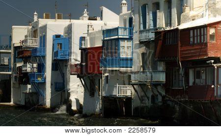 Little Venice Area - Mykonos Island, Greece