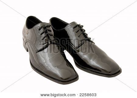 Men'S Black Dress  / Tuxedo Shoes (Clipping Path Included)