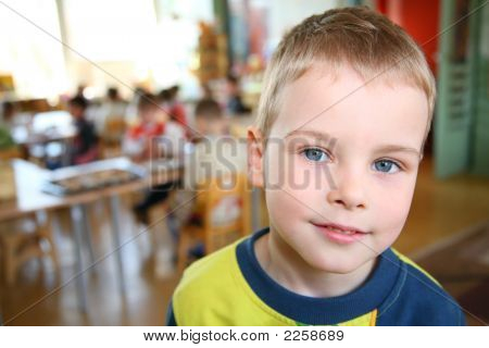 Child In Kindergarten
