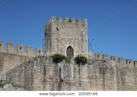 Obidos City Wall