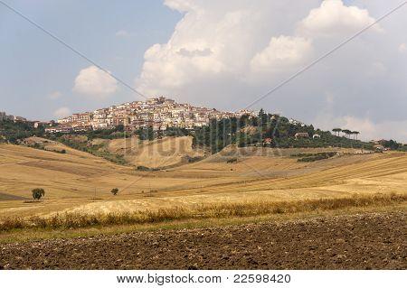 Candela (foggia, Puglia, Italy) - Landscape At Summer