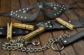 Bdsm Adult Fetish Leather Sex Toys For Domination, Submission And Bondage poster