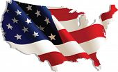 picture of usa flag  - USA - JPG