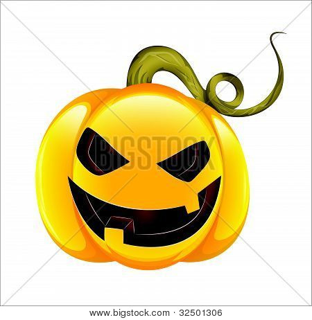 Scary Cartoon Jack O Lantern