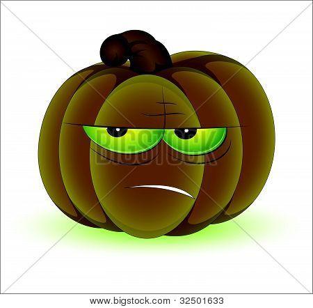Funny Pumpkin Vector