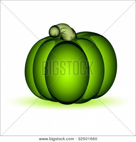 Green Pumpkin