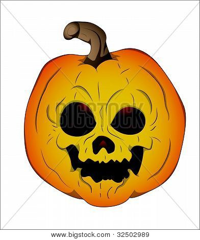 Vector Illustration of Jack O Lantern