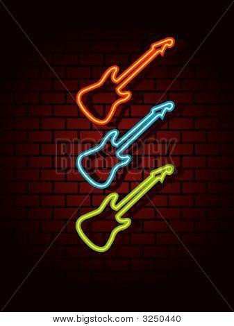 Neon Guitars