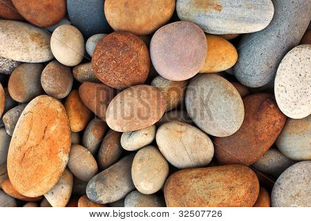 peeble stones background