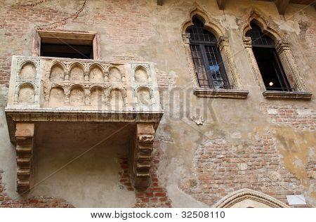 Juliet's Balcony (verona, Italy)