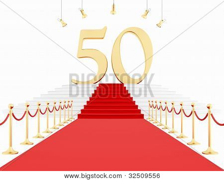 Fiftieth Anniversary Anniversary On The Red Carpet