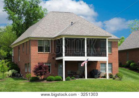 Brick Suburban Landominium Home