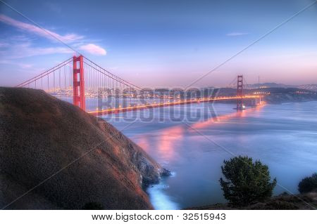 Golden Gate in San Francisco - Bay Area