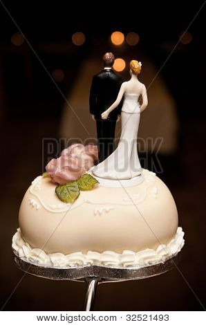 Wedding cake top