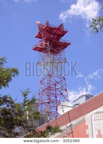 Microwave Relay Tower