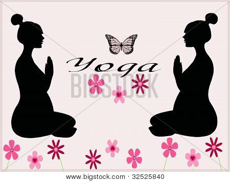 Yoga pregnancy exercises
