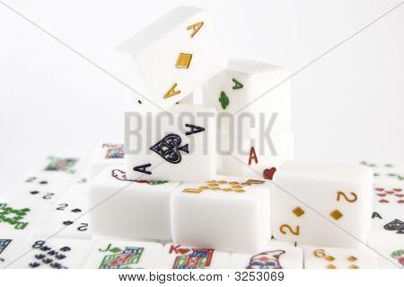 Poker Mahjong Set