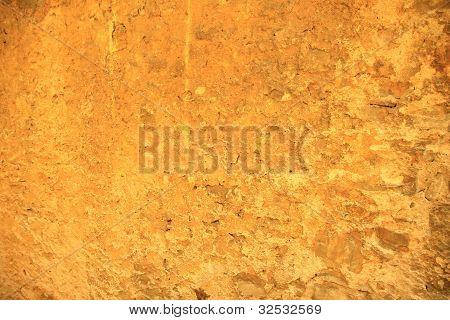Orange Rustic Stone Wall