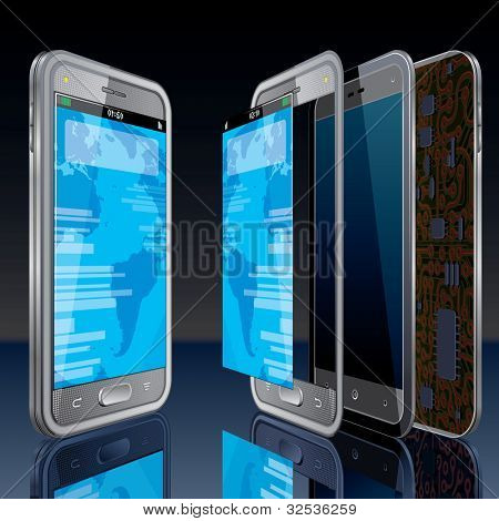Touchscreen Smart Phone Concept