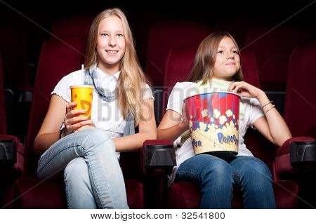 girls in cinema