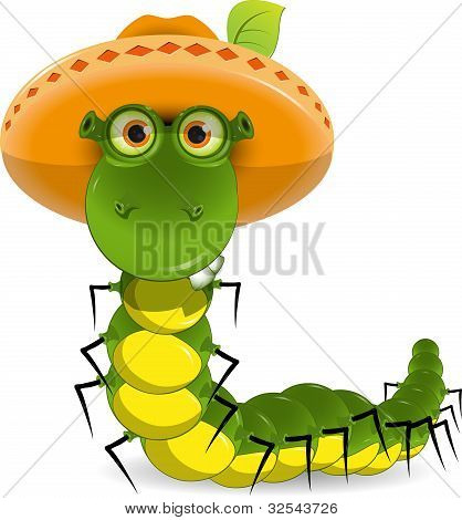 Caterpillar In The Hat