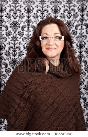 Trendy Middle Aged Woman