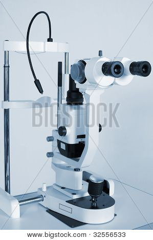 Modern and powerful microscope for medical researches