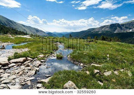Mountain Landscape Reflection Pool