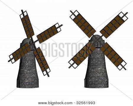 Windmills In 3D.