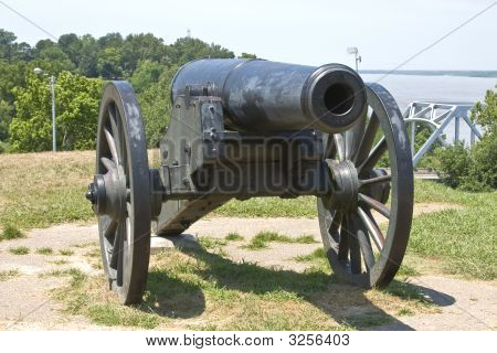 Civil War Cannon