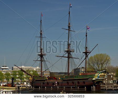 A Copy Of A British Trade Ship