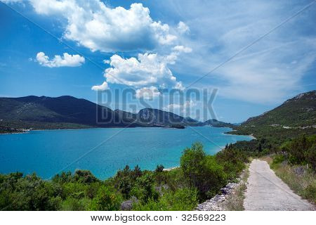 Bay On The Adriatic Coast, Peljesac Peninsula