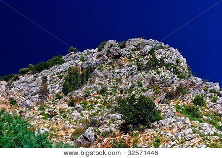 Rocks And Sea In Turkey