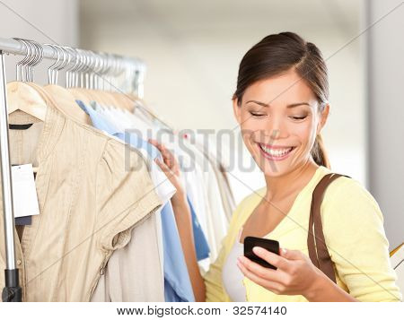 Modern Woman Shopping