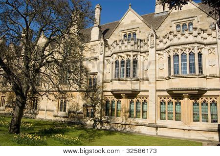 Old Law Library, Magdalen College, Oxford