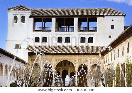 The Court Of La Acequia.