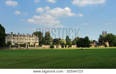 Merton College Panorama